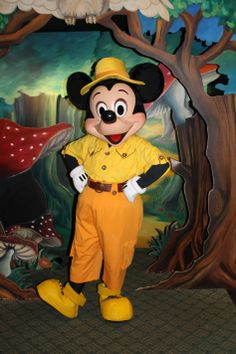 Disneyland Paris, Characters, Sequoia Lodge, Mickey Mouse tami@goseemickey.com