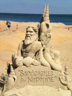 Virginia Beach Sand Castles Building Sculptures Sculpture Art