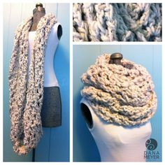 Best crochet infinity scarf pattern Ready for the one and solely circle scarf you'll need all winter? This pattern was impressed by a store-bought infinity scarf that I placed on usually. Crochet Scarves, Crochet Shawl, Knit Crochet, Chunky Crochet Scarf, Crochet Hoodie, Loom Knitting, Knitting Patterns, Crochet Patterns, Scarf Patterns