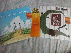 """Kit do Itaú que recebi na campanha """"Leia para uma Criança"""" http://fabricadosconvites.blogspot.com.br/2013/11/na-minha-caixa.html"""