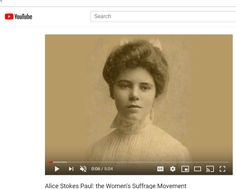 Alice Stokes Paul: the Women's Suffrage Movement Alice Paul, Suffrage Movement, Equal Rights, Change The World, American History, Equality, Politics, Women, Social Equality