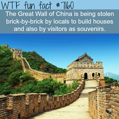 The Great Wall of China - WTF Fun Fact