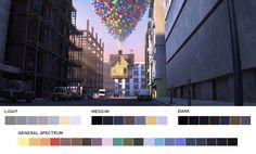 Up, 2009.  Directors: Pete Docter, Bob Peterson.  #cinematography #colour