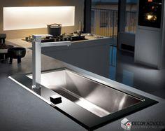 ultra modern kitchen designs  Clutter Free Kitchen With Some Creativity