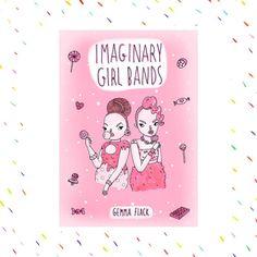 Chica imaginaria bandas Zine por GemmaFlack en Etsy