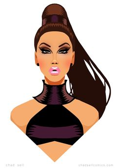 GIA GUNN by artist Chad Sell
