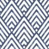 A delightful diamond within diamond geometric design, softened with a distressed colour effect. Shown in the Indigo blue - others colour available. Please request sample for colour match. Pattern repeat 17.8 cm.