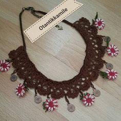 Fotoğraf açıklaması yok. Crochet Necklace, Jewelry, Instagram, Jewlery, Jewerly, Schmuck, Jewels, Jewelery, Fine Jewelry