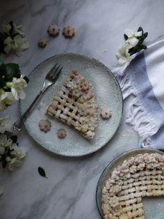 Broskyňový koláč - My Sweet Fairytale Fairytale, Food Photography, Pie, Bread, Chocolate, Spring, Sweet, Blog, Basket