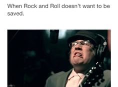 Fall out boy<<<Or when mcr didn't want to save rock and roll and break up