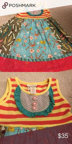 Matilda Jane size 2 Ode to Shoes dress Adorable! Excellent Used condition size 2 Matilda Jane  Dresses Casual
