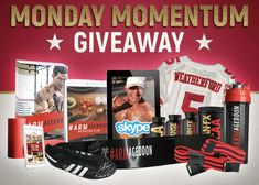 Enter for an INSTANT chance to win really awesome Weatherford Fit gear such as 1x Fully Stocked iPad with ALL my programs • 1x Signed Authentic NFL Jersey • 1x Signed NFL Game Worn Cleats • 1x 15 Minute Private Facetime/Skype with ME!!! • 1x #ARMageddon ULTIMATE BUNDLE • 1x Veritas Labs Metabolic 4 Packs • 5x #ARMageddon 12 week Programs + Nutrition/Supplement guides • 10x #ARMageddon Cyclone Cups • 10x Signed #ARMageddon Bicep Blasters • 20x Fit On Fast Food Digital Nutrition Guides and…