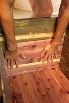 How To Build a Cedar Liner for a Vintage Trunk