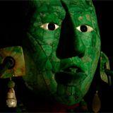maya death mask in jade