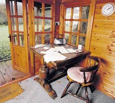 The secluded shacks and sheds of famous writers