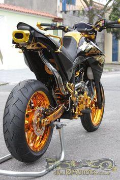 Yamaha XT660R Supermotord Gold Edition | Polaco Motos - Preparações e Customização