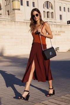 #brown #allinbrown #style #fashion #streetfashion #sokakmodası