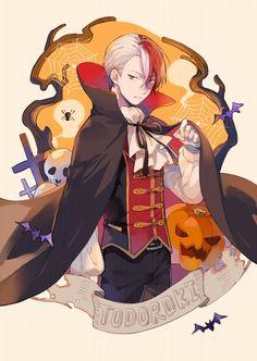 Character:Todoroki Shouto (Halloween)