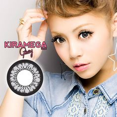 These grey contacts have a special combination of 2 tones–a dark black rim to extend the edge of the iris, and the lighter grey (base) tone to color your iris. Cool Skin Tone, Good Skin, Grey Contacts, Color Contacts, Prescription Colored Contacts, Girl Korea, Circle Lenses, Gray Eyes, Black Rims