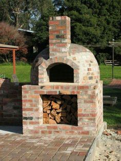 Creative ways Best Of DIY Backyard Brick Barbecue Ideas – Wood Fired Oven, Wood Fired Pizza, Wood Oven, Pizza Oven Outdoor, Outdoor Cooking, Brick Oven Outdoor, Brick Bbq, Outdoor Kitchens, Outside Living