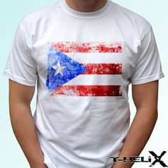 Hey, I found this really awesome Etsy listing at https://www.etsy.com/listing/220889168/puerto-rico-flag-new-white-holiday-t