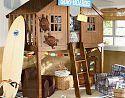 Treehouse Loft Bedroom | Pottery Barn Kids