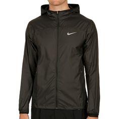 Nike Tennisbekleidung Shield Trainingsjacke Herren - Schwarz, Silber