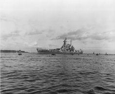 WWI & WWII Military History & Posts I Enjoy. — bmashine: Battleship North Caroline arrived at. Uss North Carolina, North Caroline, Pearl Harbor, War Machine, Battleship, Military History, Warfare, World War Ii, Wwii