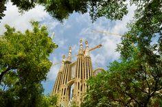 Sagrada Familia, Barcelona. August 2015.