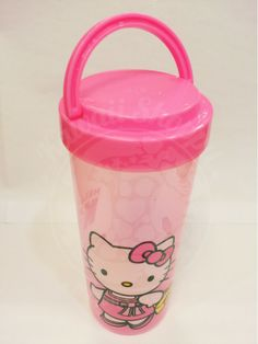 This is another kawaii of Hello Kitty Character. Hello Kitty Tumbler. Very cute and makesyou want to drink evreytime, everywhere. And so, get a lot of drink makes you healthty and have beautifull skin remedy....
