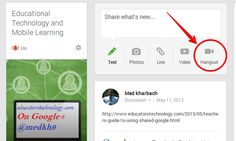 3 Easy Ways to Create A Google Plus Hangout with Your Students ~ Educational Technology and Mobile Learning