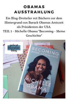 Michelle Obama war als First Lady mehr als nur der lächelnde Fan ihres Mannes. Sie startete ihre eigenen Projekte und setzte sie um. In diesem Buch erzählt sie von ihrer Zeit als First Lady und auch von ihrer Herkunft. Toll geschrieben, gut zu lesen und sehr motivierend für alle Frauen! Michelle Obama, Blog, Lady, Cover, Book Recommendations, Literature, History, Word Reading, Projects