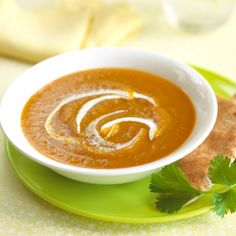 Creamy Butternut Squash and Apple Soup by Candice Kumai