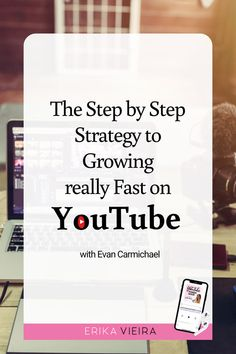 Even if you've been growing your channel for years, Evan Carmichael is here to share the details on how you can see massive growth in Let's go! Get Subscribers, Inspirational Quotes For Entrepreneurs, Our Love Quotes, Creative Writing Ideas, Blog Names, Free Facebook, Video Channel, Blog Topics, Content Marketing Strategy