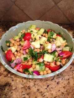 Commona My House: Chick Pea Summer Salad