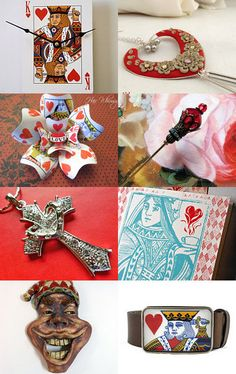 King and Queen of Hearts and a Joker--Pinned with TreasuryPin.com