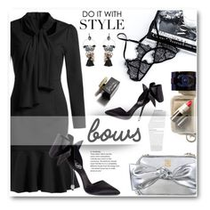 """3.Put a bow on it!"" by wannanna ❤ liked on Polyvore featuring D&G"