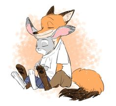 Collection of paintings on the theme: Zootopia. The images are taken from a variety of sources, and are not always listed author of the picture. Disney Zootropolis, Disney Ships, Disney Love, Zootopia Nick Wilde, Zootopia Nick And Judy, Nick And Judy Comic, Zootopia Fanart, Judy Hopps, Fandom