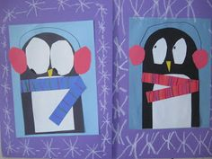 MaryMaking: Construction Paper Penguins