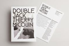 Design by Akatre, Double Jack - Thierry Micouin, 2014