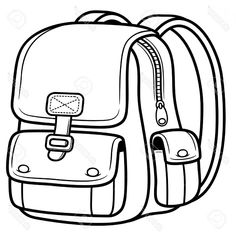 Back To School Black And White Clipart Free download best Back To School Black And White Clipart o Black and white backpacks Clip art Clipart black and white