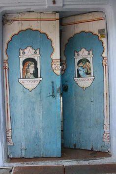 door in Rajastan, India.