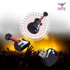 USB de Guitarra de 32 GB https://www.facebook.com/revemex/ www.reve.mx