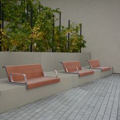 Natura is the new colour of our beloved laminate seats IL POSTO. Choose from 6 different colour styles. Outdoor Sofa, Outdoor Furniture, Outdoor Decor, Street Furniture, Landscape Architecture, Industrial Design, Exterior Design, Different Colors, Garden Design