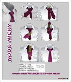 Come Fare Il Nodo Alla Cravatta: Nodo Nicky | Camiciaecravatta