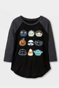 Girls Halloween Long Sleeve Shirt-S-4//6