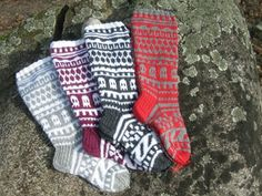 Villasukat - Astubutiikkiin.fi Christmas Stockings, Wool, Holiday Decor, Winter, Home Decor, Men, Needlepoint Christmas Stockings, Winter Time, Decoration Home
