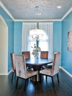 7 Blue Dining Rooms Decor