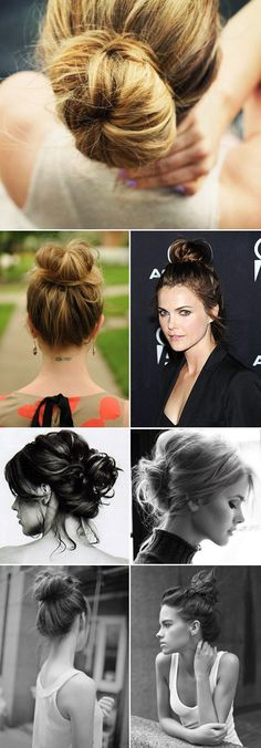 Love these more casual updos ... Profile image of Jessi Martin