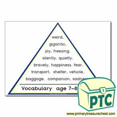 VCOP Resources - Primary Treasure Chest Teaching Activities, Teaching Ideas, English Resources, Treasure Chest, Vocabulary, Literacy, Crafts For Kids, Joy, Children